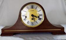 More details for vintage 60s h samuel napoleon hat mechanical westminster mantel clock fhs german