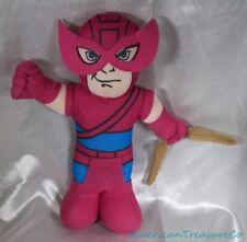 """2012 Marvel Superhero Squad 14"""" Plush Avengers Hawkeye w/Mask & Bow Sewn Eyes"""