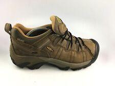 KEEN 1010125 Mens Targhee II Hiking Waterproof Nubuck Brown Leather  Sz 10.5 US