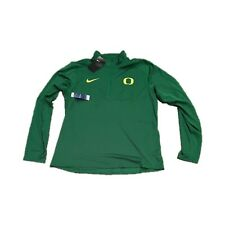 NWT New Oregon Ducks Nike Men's 1/2 Zip Element Pullover Jacket Large