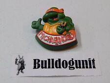 Michaelangelo Rad Badge Burger King Teenage Mutant Ninja Turtles 1989