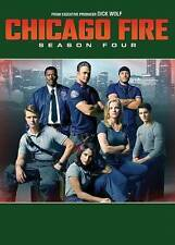 Chicago Fire: Season Four (DVD, 2016, 6-Disc Set) Free Shipping
