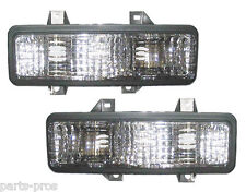 New Turn Signal Light Lamp PAIR / FOR 1992-95 CHEVROLET GMC VAN WITH DHL