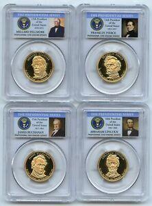 2010 S Presidential Dollar Set PCGS PR69DCAM
