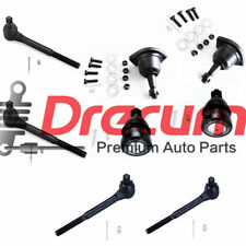 8PC Front Ball Joint Tie Rod Kit For Regal El Camino Monte Carlo JIMMY