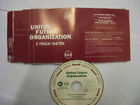 UNITED FUTURE ORGANIZATION [UFO] 3 Track Taster – 1993 UK CD PROMO – Acid Jazz