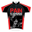 Pain is Weakness Cycling Jersey by 83 Sportswear with DeFeet Socks bike bicycle