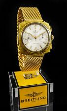 JAMES BOND 007 BREITLING SWISS TOP TIME CHRONOGRAPH 188 GOLD LUXUS HERREN UHR