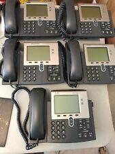 Cisco IP Phone 7941  Lot of 5