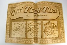 Craftool Tech Tips by Al Stohlman Tandy Leather Vintage 1969 Craft
