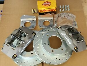 Datsun 520 521 620 Pick Up Truck New FRONT Disc Brake 4 Piston Wilwood Kit 63-77