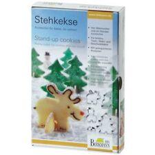 Ausstechform Stehkekse Weihnachten Ausstecher Elch Birkmann