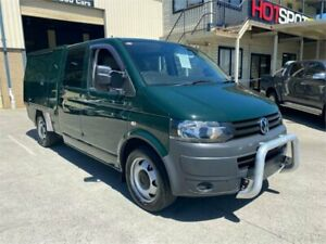 2013 Volkswagen Transporter T5 TDI400 Green Automatic A Cab Chassis