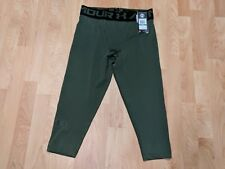 UNDER ARMOUR 3/4 TIGHTS COMPRESSION MENS Large NWT Army Green 1291328-787 $35