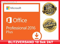 Microsoft Office 2016 Professional Plus,MS® Office ✔ PRO VOLLVERSION✔ Für 1 PC ✔
