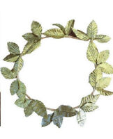 New Adults Womens Mens Golden Leaves Wreath Party Costume Headband Dress Up