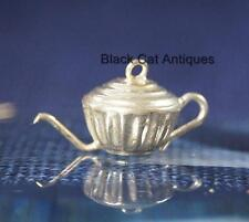 Unique Vintage Silver Teeny, Tiny Teapot Charm