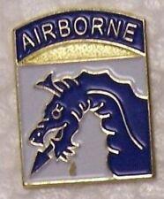 Hat Lapel Push Tie Tac Pin 18th Airborne Brigade New