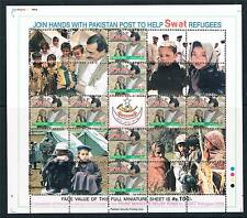 Pakistan 2009 SWAT Refugees MS SG 1372 MNH