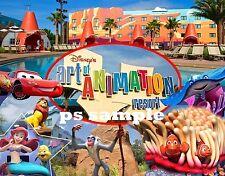 Florida - Disney - ART OF ANIMATION RESORT - Travel Souvenir Fridge Magnet