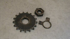 TRIUMPH  955i TRIPLE COUNTERSHAFT SPROCKET WASHER AND NUT   1999  MAY FIT 97-01