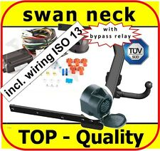 Towbar & Electrics ISO 13pin Ford Kuga 2008-2012 / swan neck Tow Bar