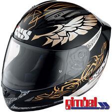 """IXS Helm  HX 406 """"MYSTIC"""" Carbon-Fiberglas Motorradhelm  Gr L (59-60)"""