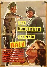 HAUPTMANN UND SEIN HELD (Plakat '55) - ERNST SCHRÖDER / FITA BENKHOFF