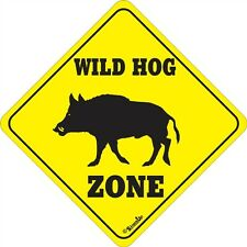 Wild Hog Xing Sign