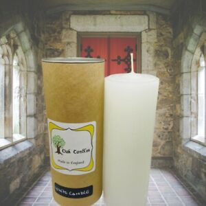 Pillar Candle ! Single Pillar Candle ! Large Candle ! Church Candle Non Scented
