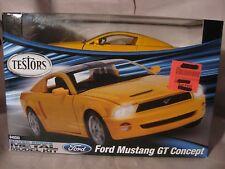 Ford Mustang GT Concept Metal Model Kit #640020 Silver Series Testors 2010 md73