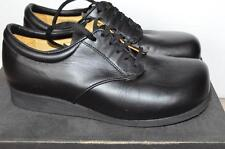 P.W.MINOR MISS CONTOUR Black Orthopedic Work Safety Shoes Size 7.5 D
