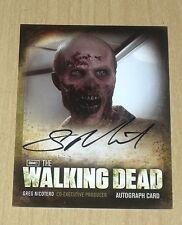 2012 Cryptozoic Walking Dead Season 2 autograph card Greg Nicotero producer A12