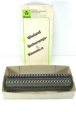 23 Stück WIELAND WK 10/Si U 5x20 Sicherungsklemme 57.910.5053.0 NEU in OVP