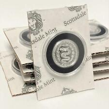 10 X 1/2 OZ Serpent De Milan .999 monedas de plata - 5 oz troy #A509 total