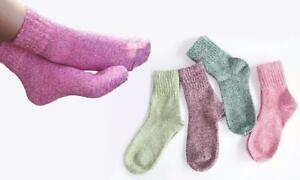 4pk Candy Thick Winter Socks