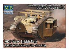 "MASTER BOX MB72003 1/72 Mk I ""Male"" British tank special modification for Gaza"