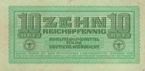 Germany 10 Reichspfennig 1942 P-M34 AU