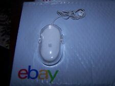 Apple White USB Optical Mouse Model M5769