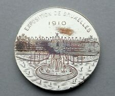 Belgium Medal. Brussels International 1910. Exposition Universelle. By Lecroart.