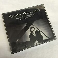 ROGER WILLIAMS The Greatest Popular Pianist DOUBLE CD Factory Sealed PRIORITY MA