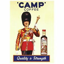 CAMP CHICORY & COFFEE ESSENCE...241ml BOTTLE...THE ORIGINAL CAMP COFFEE!