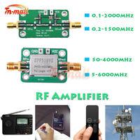 0.1-6000MHz RF Amplifier Module LNA Board Broadband Signal Receiver Low Noise