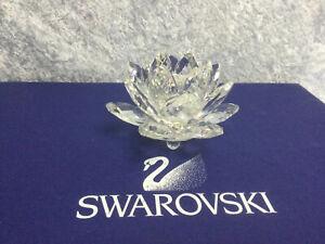 Swarovski 124 Small WaterLily Candleholder 7600124000 011867 5084103.