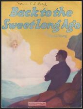 COLUMBUS, OHIO vintage sheet music BACK TO THE SWEET LONG AGO Russell Young 1920