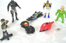 Lot of 9 Toys Action Figures Batman Cars Metal Ball Mask