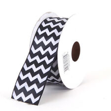 Chevron Grosgrain Ribbon 1.5 inch x 1 yard (3 ft of cut ribbon) YOU PICK COLOR