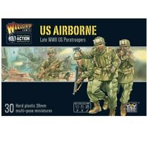 Bolt Action Lot Us Airborne Wwii Warlord Games 6 Miniatures 1 Sprue