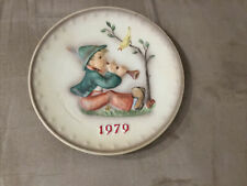 M J Hummel Annual Plate 1979 In Bas Relief