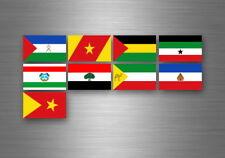 Aufkleber sticker set bundesstaat lander flagge flaggen stempel fahne äthiopien